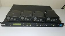 Telex RadioCom BTR-800 C3 Band / w Belt Packs NO BATTERY