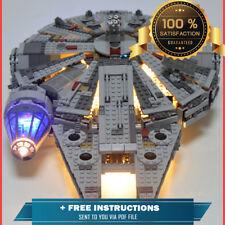 LED LighL Kit FOR LEGO Star Wars Millennium Falcon Space Ship New Custom