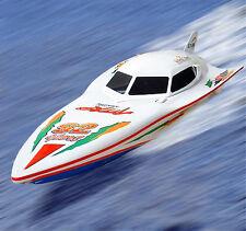 Contrôle à distance bon marché Radio RC Blanc Stealth RS 7000 r / c racing yacht Yacht bateau de vitesse