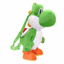 "Nintendo 15"" Backpack PLUSH SUPER MARIO BROS YOSHI Kids Travel Buddies Bag Toy"