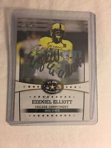 2013 Leaf Ezekiel Elliot Auto RC #31 Buckeyes/Cowboys🔥