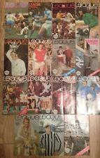 """Job lot 15 x """"ligue de football"""" magazines 1972-1974, voir description pour les questions"""