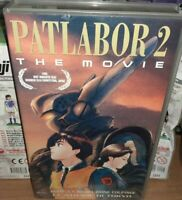 1 VHS MANGA FILM ANIME CULT ROBOT POLICE CYBERPUNK,PATLABOR the MOVIE 2 ingram,x