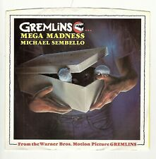 45RPM, MICHAEL SEMBELLO ' GREMLINS '-MEGA MADNESS ' M- / FROM MOVIE '