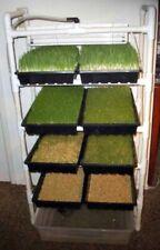 8 tray complete Fodder Feeding System