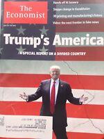 The Economist Magazine Donald Trump's America July 1-7, 2017 101717nonrh