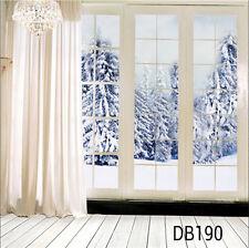 10x10ft Vinyl Studio Winter Snow Photography Backdrop Photo Background DB190