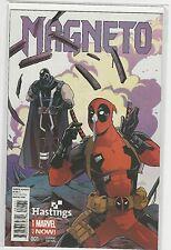 Magneto #1 Deadpool Hastings Variant Marvel 2014 NM-