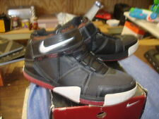 Pre Owned Nike Zoom Lebron II 2 Black Red White RARE 309378 011 Size 13