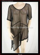 Taking Shape Overlay Asymetric Mesh Layering Top Size 22 (Large) NWOT Travel