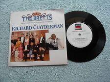 "RICHARD CLAYDERMAN THEME FROM ""THE BRETTS"" DECCA RECORDS 7"" VINYL SINGLE in P/S"
