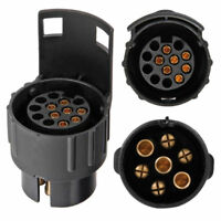 Adapter Stecker 7 pol auf 13 poliger Auto Pkw Anhänger Strom Anhängerstecker 12V
