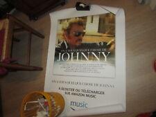 """""""On a tous quelque chose de Johnny """" AFFICHE 80x120 Johnny Hallyday"""