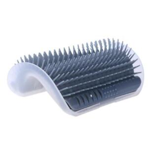Pet Cat Self Groomer Wall Grooming Corner Brush Catmint Massage Comb Toy