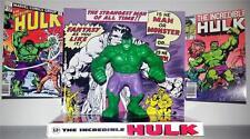 INCREDIBLE HULK Comic Avenger Superhero ACTION FIGURE on Custom Display DIORAMA