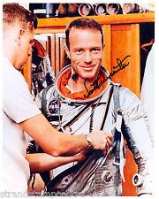 """Scott Carpenter Colour 10""""x 8"""" Signed Space Suit Photo - UACC RD223"""
