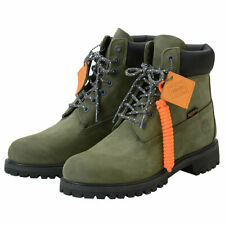 "Timberland X Porter Capsule Collection 6"" Olive Green Waterproof Boots [RARE]"