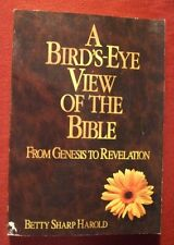 A birds-eye view of the Bible: From Genesis to Re