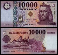 HUNGARY 10000 FORINT (P206a) 2014 UNC