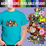 Super Smash Bros Yoshi Mario Pikachu Kirby Unisex Kid Boy Gril Tee Youth T-Shirt