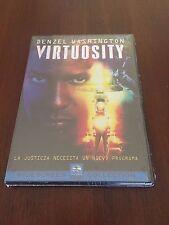 VIRTUOSITY - ED 1 DVD - 101MIN - RUSSELL CROWE NUEVO & EMBALADO - NEW & SEALED