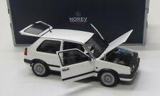 VW GOLF 2 GTI g60 (1990) BIANCO/NOREV 1:18 ORIGINALE IMBALLATO
