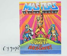 MOTU, Spain, Rock People to the Rescue, Mini Comic Book, Masters of the Universe