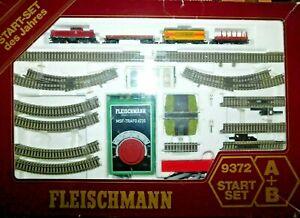 """Fleischmann Piccolo N """" 9372 Start Set Güterzug mit Diesellokomotive """" Top Set"""