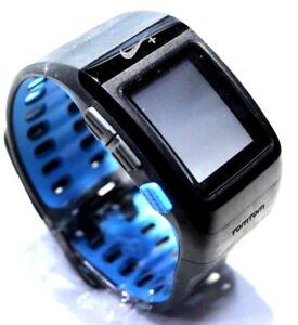Nike+ SportWatch GPS Powered by TomTom | Anthracite/Blue Glow | No Power