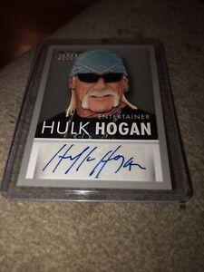 2015 Panini Americana S-HH Hulk Hogan Auto Autograph WWF WWE WCW Rocky III