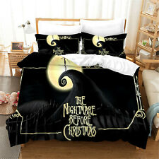 The Nightmare Before Christmas Bedding Sets 3D Print Duvet Cover & Pillowcase