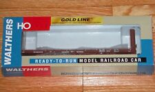 WALTHERS 932-40051 GOLD LINE CANADIAN 50' BULKHEAD FLAT CAR CANADIAN NATIONAL