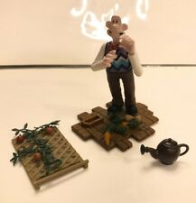 Wallace And Gromit Figures, parts from a collector Set