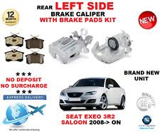 para SEAT EXEO trasero izquierdo Calibrador con Pastillas Set 3r2 Sedán 2008- >