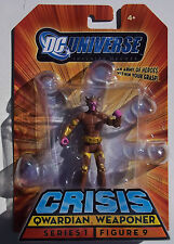 DC UNIVERSE INFINITE HEROES CRISIS QWARDIAN WEAPONER. MINI ACTION FIGURE. NOC