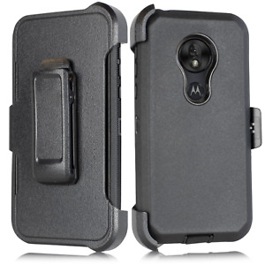 For T-Mobile REVVLRY PLUS Armo Heavy Duty Case Built in Screen fit Otterbox Clip