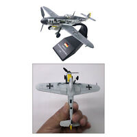 1/72 Diecast Die Cast Germany BF109F-4 Aircraft Plane Toys Model w/ Stand