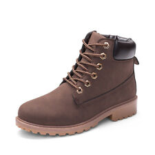 NEW Work Boots Women's Winter Leather Boot Lace up Outdoor Waterproof Snow Boot