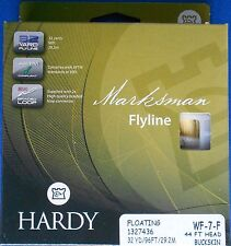 Hardy Wf7 Floating Fly Fishing Trout Line - Ice Blue