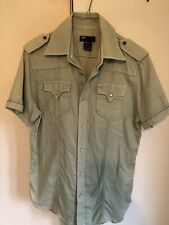 Diesel Mens Retro Shirt Medium ., Military Style