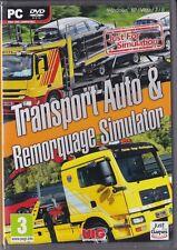JEU PC TRANSPORT AUTO & REMORQUAGE SIMULATOR SIMULATION WINDOWS 7/8