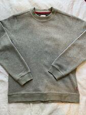 Topo Designs Global Sweater Fleece Pullover - Men's Large - Grey