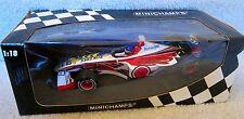1999 AUTOGRAPHED F1 Formula1 JACQUES VILLENEUVE SUPERTEC  BAR ONE  MINICHAMPS