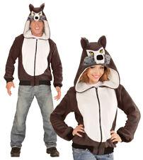 Wolf Jacke Plüschkostüm NEU - Herren Karneval Fasching Verkleidung Kostüm
