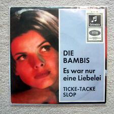 Single / DIE BAMBIS / RARES COVER / AUSTRIA / RARITÄT /