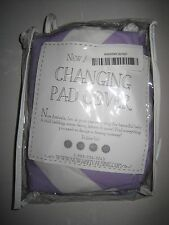 New Arrivals Zig Zag Changing Pad Cover, Lavender