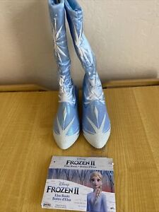 Disney Frozen 2 Elsa Travel Boots for Girls Costume or Role Play Dress-Up