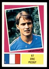 F.K.S Argentina 78 - Eric Pecout France No. 67