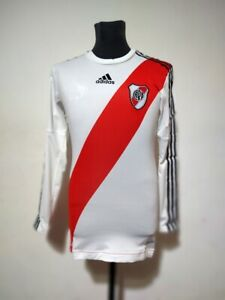 River Plate soccer jersey Adidas Techfit 2012/2013 Size 6 Long Sleeves New