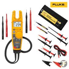 Fluke t6-600 tensión y continuidad corriente medidor con tlk-225 Clips y sondas